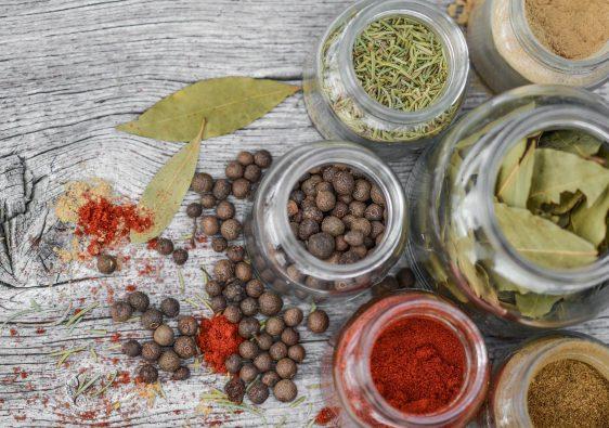herbes aromatiques conservées